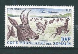 Timbres Des Cote De Somalis  PA  De 1958  N°26  Neuf * Tres Petite Trace De Charnière - French Somali Coast (1894-1967)
