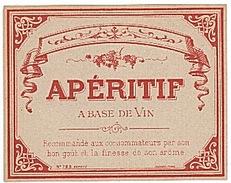 ETIQUETTE - APERITIF - - Etiquettes