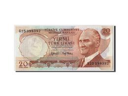 Turquie, 20 Lira, L.1970, 1970-01-14, KM:187a, NEUF - Turquia