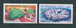 Timbres Des Cote De Somalis  PA  De 1963  N°35/36  Neufs ** - French Somali Coast (1894-1967)