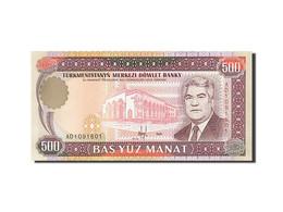 Turkmenistan, 500 Manat, 1995-1998, KM:7b, 1995, NEUF - Turkménistan