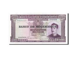 Mozambique, 500 Escudos, 1961-1967, KM:110a, 1967-03-22, SUP - Mozambique