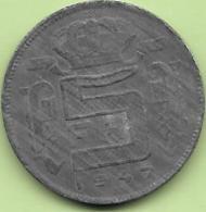 5 Francs Zinc 1947 FR Rare++++ - 1945-1951: Régence