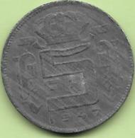 5 Francs Zinc 1947 FR Rare++++ - 1945-1951: Regency