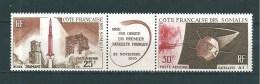 Timbres Des Cote De Somalis  PA  De 1966  N°46A Triptyque  Neufs ** - French Somali Coast (1894-1967)