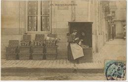 476 Marchandes D' Huitres Oysters Vendors Envoi De Bourges Cher Vers Henrichemont Edit Grand Bazar De Tours - Händler