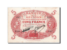 Réunion, 5 Francs, 1938, Serie U, KM:14 - Réunion