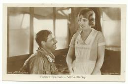 3 Cartes Neuves - Ronald Colman Avec Vilma Banky - United Artist - édition Ross - Schauspieler