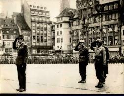 Libération De Strasbourg (Nov 1944) - Tirage Photo Originale - 24 (L) X 18 (H) - Au Coeur De L'histoire - Lot 15677 - Guerra, Militares
