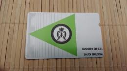 Alcatel Ministry Of P.T.TNumber 30  2 Scans - Saudi Arabia