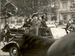 Libération De Strasbourg (Nov 1944) - Tirage Photo Originale - 24 (L) X 18 (H) - Au Coeur De L´histoire - Lot 15678 - Guerre, Militaire