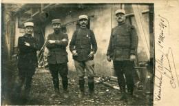 CARTE PHOTO LEIMBACH 1925  Voir Au Dos Noms Des Militaires - Otros Municipios