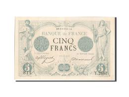 France, 5 Francs, 5 F 1871-1874 ''Noir'', 1873, 1873-05-09, KM:60, SUP+, Faye... - 1871-1952 Anciens Francs Circulés Au XXème