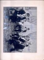 AUTOGRAPHE LEO NILSSON QUINTETO ATILIO CASSONE MIGUEL C. SALINAS Y OTROS MENDOZA CIRCA 1949 5 AUTOGRAFOS - Autographes