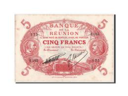 Réunion, 5 Francs, 1938, Serie S, KM:14 - Réunion