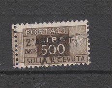 Yvert 18 Oblitéré - Pacchi Postali/in Concessione