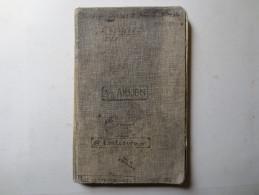 Carnet De Bord - 2e Lieutenant - SS. Arijon - SS. Châteauroux Et Ville De Srasbourg - - Barche