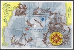 Tristan Da Cunha. 1974 The Lonely Island. MH Miniature Sheet SG MS 192 - Tristan Da Cunha