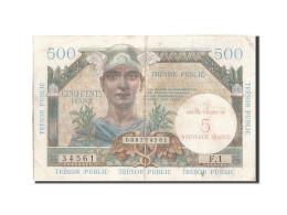 France, 5 Nouveaux Francs On 500 Francs, 1955-1963 Treasury, 1960, 1960, KM:M... - 1955-1963 Trésor Public