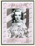 Antigua And Barbuda, 2002, Marlene Dietrich, Actress, Singer, Cinema, MNH Sheet, Michel Block 544 - Antigua E Barbuda (1981-...)
