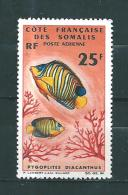 Timbres Des Cote De Somalis Timbre De 1966  PA N° 50  Neuf ** Parfait - French Somali Coast (1894-1967)