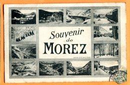MAI185, Souvenir De Morez, Multivues,  Circulée - Morez
