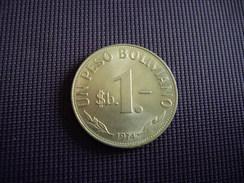 Bolivie 1 Peso Boliviano 1974 - Bolivie