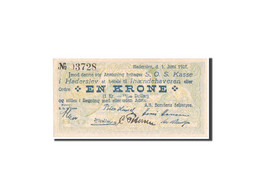 Danemark, Haderslev, 1 Krone, 1927, Notgeld, Maison, Pick UNL - Danemark