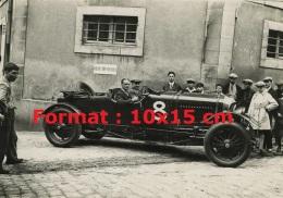 Reproduction D'une Photographie D'une Bentley Numéro 8 De 1929 - Reproductions