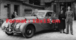 Reproduction D'une Photographie D'une Bentley Corniche De 1950 - Reproductions
