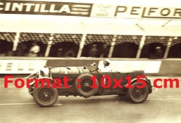 Reproduction D'une Photographie D'une Bentley Speed Six En 1929 - Reproductions