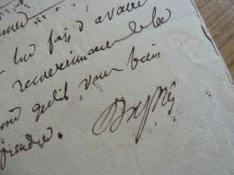 DUPIN Ainé (1783-1865) PRESIDENT Assemblée. - ACADEMIE FRANCAISE - Autographe - Autographes