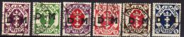 Danzig Dienstmarken 1922 Mi 15-20, Gestempelt [200516VII] - Danzig