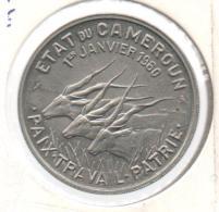 CAMERUN - CAMEROUN - 50 Francs 1960 ESSAI - Camerún