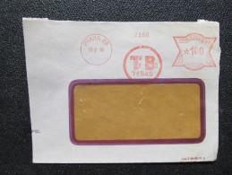 Brief Frankotype Postfreistempel Praha 88 Tebas  1939// S8436 - Böhmen Und Mähren