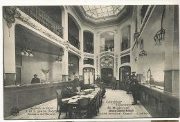 Banque Comptoir D' Escompte De Mulhouse Succursale De Dijon 1 Et 3 Place Darcy Interieur Bureaux - Banks