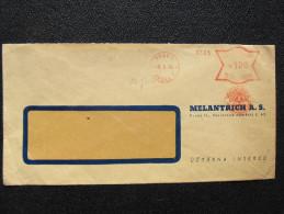 Brief Frankotype Postfreistempel Praha 1940 Melantrich// S8443 - Böhmen Und Mähren