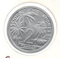 COMORES / COMOROS - 2 Francs 1964 ESSAI - Comoros