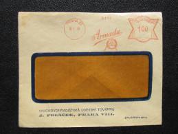 Brief Frankotype Postfreistempel Praha 22 Armada 1933 // S8454 - Tschechoslowakei/CSSR