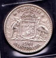 Australia 1941 Florin - Monnaie Pré-décimale (1910-1965)