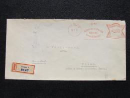 Brief Frankotype Postfreistempel Praha 1 Ceskoslovenska Obilni 1935  // S8463 - Tschechoslowakei/CSSR