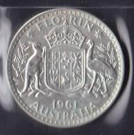 Australia 1961 Florin UNC - Monnaie Pré-décimale (1910-1965)