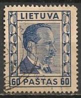 Timbres - Lituanie - 1939 - 60 C. - - Lituanie