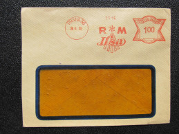 Brief Frankotype Postfreistempel Praha 56 RM Ilsa 1932 /// S8470 - Briefe U. Dokumente