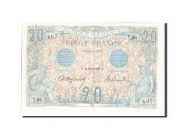 France, 20 Francs, 20 F 1905-1913 ''Bleu'', 1906, 1906-01-26, KM:68a, SPL+, F... - 1871-1952 Anciens Francs Circulés Au XXème