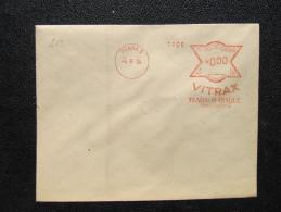 Brief Frankotype Postfreistempel Praha 7 Vitrax 1934 /// S8473 - Tschechoslowakei/CSSR