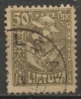 Timbres - Lituanie - 1921 - 50 Sk. -N° 90 - - Lituanie