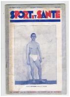 SPORT ET SANTE   L'ATHELE DESMONT MONITEUR à JOINVILLE     MAI 1931 - Gymnastique