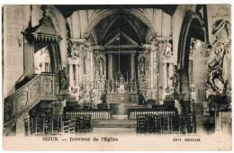 CPA Sizun, Intérieur De L'Eglise (pk30032) - Sizun