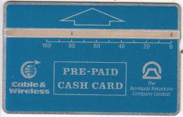 BERMUDA ISL. - Blue Generic 100 Units, Tirage 5000, CN : 210A, Used - Bermuda